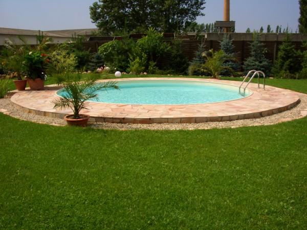 FUN Rundschwimmbecken, Tiefe: 120cm, Innenhülle: 0,8 mm