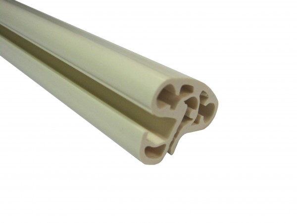 Handlaufpaket Hart-PVC Ovalbecken SWIM sand