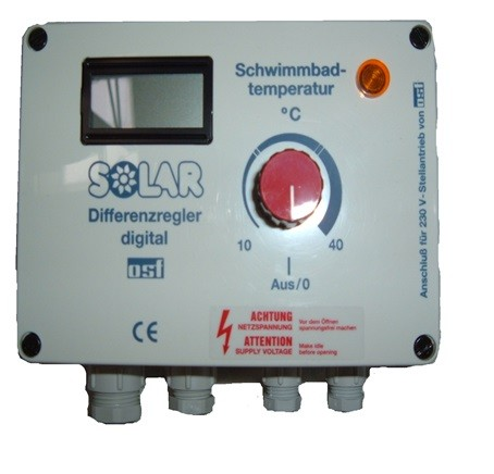 Temperaturdifferenzregler Solar 11