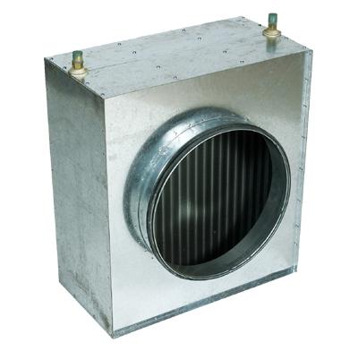 Warmwasserheizregister D400
