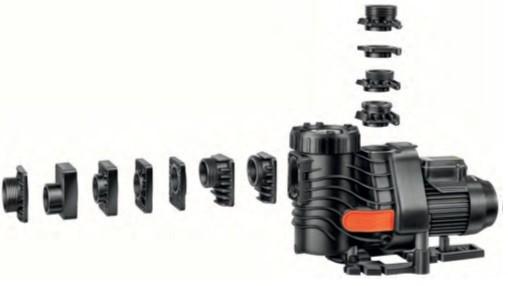 Anschluss-Set Filterpumpen