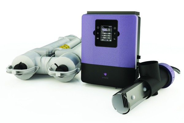 Infinity Senic UV- und Salzwasserelektrolyseanlage ohne pH-Regulierung + Rx-Überwachung