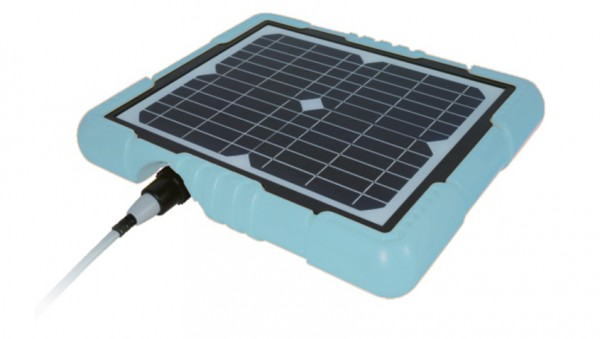 Solarkollektor zu Clean & Go